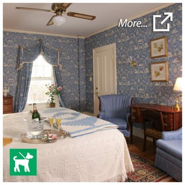 Hubbard room - dog-friendly